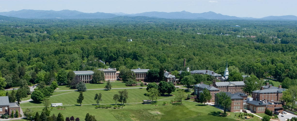 Sweet Briar Aerial View Picture